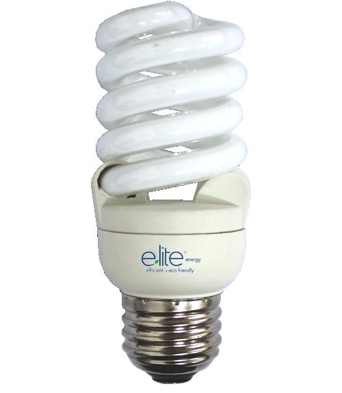 Cfl Bulbs Elt 15 Watt Cool White Light 4100k Spiral Cfl Light Bulb Mod Elts15cw